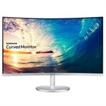 Monitor 27 LED Full HD LC27F591 HDMI Entrada Áudio e Vídeo Tela Curva - Samsung
