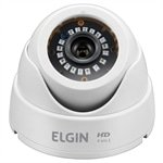 Câmera de Monitoramento AHD Elgin Lentes Dome, 24 LEDs, Night Vision, Sensor Digital 1/4'