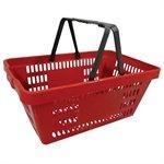 Cesta Plástica Vermelha p / Supermercado - Amapá