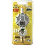 Regulador de Gás 505 / 01 Pequeno s / Mangueira c / Manômetro - Aliança