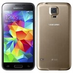Smartphone Galaxy S5 Dual Chip Dourado Tela 5.1 3G+WiFi Android 4.4 16 MP 16GB - Samsung