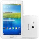 Tablet Galaxy Tab E T113NU Branco Tela 7 WiFi Android 4.4 Câmera 2MP Memória 8GB - Samsung