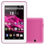Tablet M7-S, Rosa, Tela 7', WiFi, Android 4.4, 2MP, 8GB - Multilaser