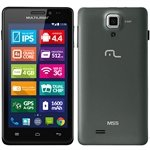 Smartphone MS5 P3272 Dual Chip Preto Tela 4.5 3G+WiFi Android 4.2 8MP 4 GB - Multilaser