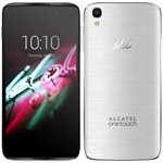Smartphone Idol 3 Dual Chip Prata Tela 4.7 4G+WiFi Android 5 13MP 16GB - Alcatel
