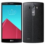 Smartphone G4 H818 Dual Chip Couro / Preto Tela 5.5 4G+WiFi Android 5.1 16MP 32GB - LG
