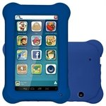 Tablet Multilaser Kid Pad, Azul, Tela 7', WiFi, Android 4.4, 2MP, 8GB