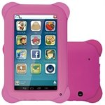 Tablet Multilaser Kid Pad, Rosa, Tela 7', WiFi, Android 4.4, 2MP, 8GB
