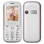 Celular Multilaser Up P3293, Dual Chip, Branco/Rosa, Tela 1.8', MP3/MP4, Bluetooth, VGA