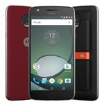 Smartphone Motorola Moto Z Play Sound Edition, Dual Chip, Preto, Tela 5.5', 4G+WiFi, Android 6.0, 16MP, 32GB + Snap Sound JBL