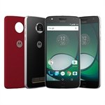 Smartphone Motorola Moto Z Play Power Edition Dual Chip Preto / Prata Tela 5.5 4G+WiFi+ NFC Android 6.0 16MP 32GB