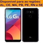 Smartphone LG G6 Preto Tela 5.7 4G+WiFi+NFC Android 7.0 13MP 32GB