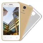 Smartphone Multilaser MS45S Dual Chip Dourado Tela 4.5 3G+WiFi Android 5.1 5MP 8GB
