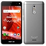 Smartphone Positivo Twist, Dual Chip, Cinza, Tela 5', 3G+WiFi,Android 7.0, 8MP, 16GB