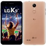 Smartphone LG K9 TV, Dual Chip, Dourado, Tela 5', 4G+WiFi, Android 7.0, 8MP, 16GB, TV Digital
