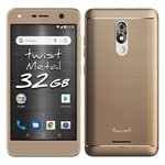 Smartphone Positivo Twist Metal, Dual Chip, Dourado, Tela 5.2', 3G+WiFi, Android 8.0, 8MP, 32GB