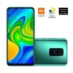 Smartphone Xiaomi Redmi Note 9, Dual Chip, Verde, Tela 6.53', 4G+WiFi, Android, Câm.Traseira 48+8+2+2MP, Frontal 13MP, 64GB