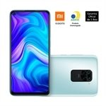 Smartphone Xiaomi Redmi Note 9, Dual Chip, Branco, Tela 6.53', 4G+WiFi, Android, Câm.Traseira 48+8+2+2MP, Frontal 13MP, 128GB