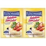 Gelatina em Pó s / Sabor 24g - 30 unidades - Fleischmann