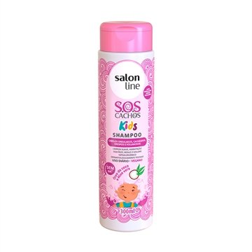 Shampoo Kids S.O.S. Cachos 300ml - Salon Line