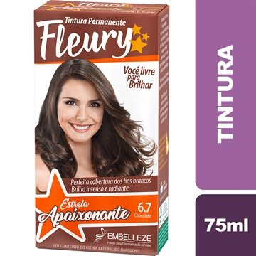 Tintura 6.7 Chocolate 75ml - Fleury