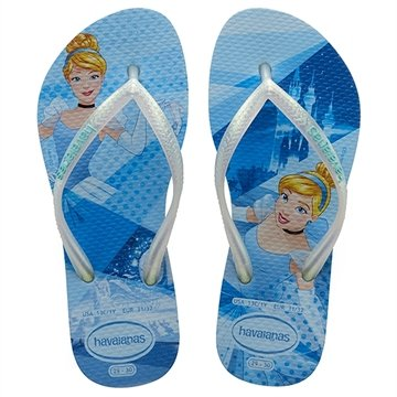 Havaianas Kids Slim Princess Azul Splash