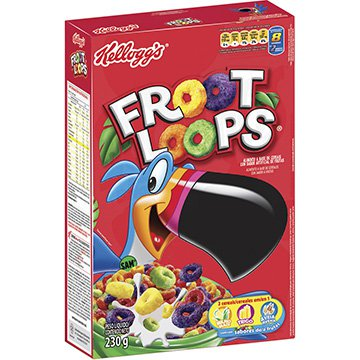 Cereal Matinal Sucrilhos  Froot Loops 230g