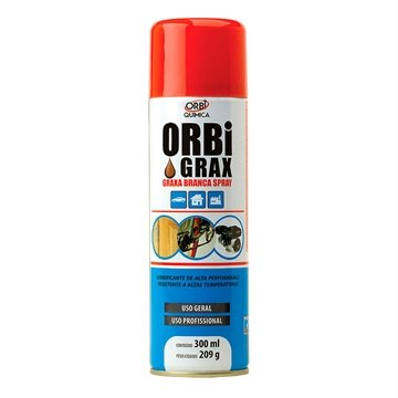 Graxa Branca Orbi Spray 209g/300ml