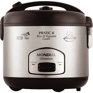 Panela Elétrica 6 Xícaras Pratic Rice & Vegetables Cooker Premium PE-02  - Mondial