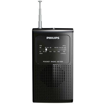 Rádio Portátil AE1500X/78 AM/FM, Entrada p/ Fone de Ouvido,Sintonia Analógica - Philips