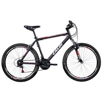 Bicicleta Caloi Aluminum Sport Aro 26, 21 Marchas MTB, Suspensão Dianteira, Preta