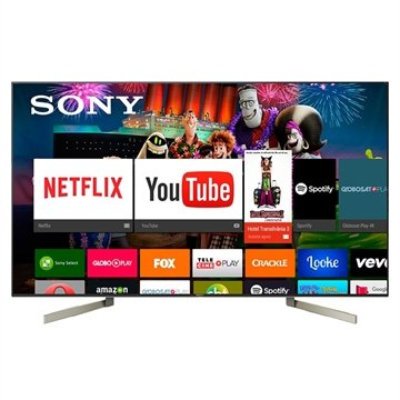 "Smart TV LED 65"" Sony XBR-65X905F 4K HDR com Android, Wi-Fi, 3 USB, 4 HDMI."