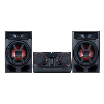 Mini System LG XBOOM CK43 com Multi Bluetooth, 2 USB, Sound Sync, Wireless, 220W RMS