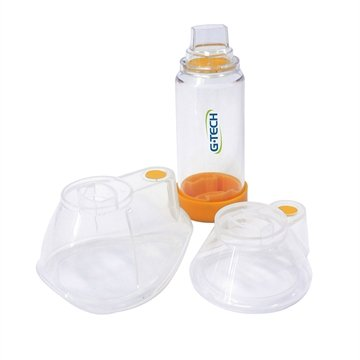 Espaçador para Aerosol Clear Adulto e Infant - G-Tech