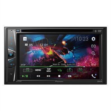 "Central Multimídia Pioneer AVH-G218BT, 2-DIN, Tela Touch 6,2"", Rádio, DVD, CD, USB e Bluetooth"