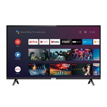 "Smart TV LED 43"" Semp 43S6500FS Full HD com 1 USB, 2 HDMI, Android, Bluetooth, 60Hz"