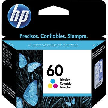 Cartucho HP 60 Color Ref:CC643WB - 4480 / 4580 / 4780 / D110 / D1660