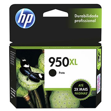 Cartucho Original HP 950XL CN045AB Preto