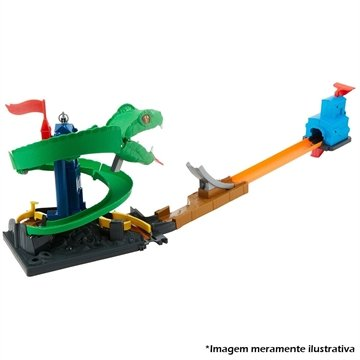 Conjunto Hot Wheels City Ataque da Cobra