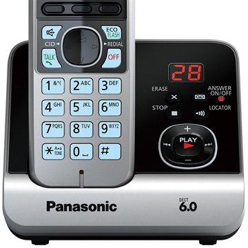 7c158d52a Telefone sem Fio KX-TG6722LBB Preto ID. Chamadas