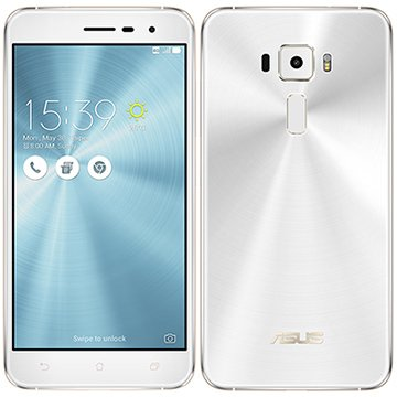 """Smartphone Asus Zenfone 3, Dual Chip, Branco, Tela 5.2"""", 4G+WiFi, Android 6, 16MP, 32GB"""