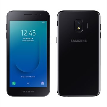 "Smartphone Samsung Galaxy J2 Core, Dual Chip, Preto, Tela de 5"", 4G, Android, 8MP, 16GB"