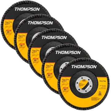 Disco Flap Thompson 7P G40 5 Unidades
