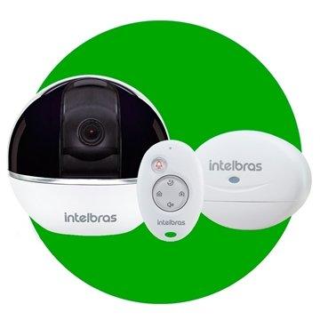 Câmera de Segurança Interna Intelbras Wi-Fi HD IC7 360 Graus 4mm ... ecd91677c8