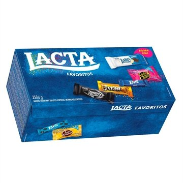 Chocolate Lacta Brand Mix Variedades 250,6g
