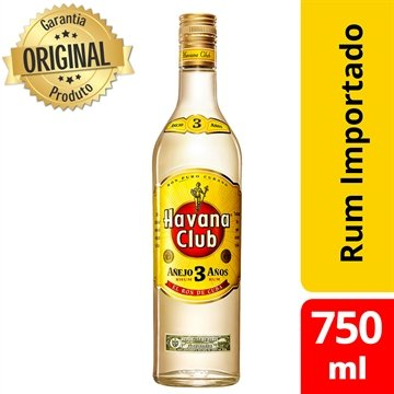 Rum Havana Club Anejo 3 anos 750 ml