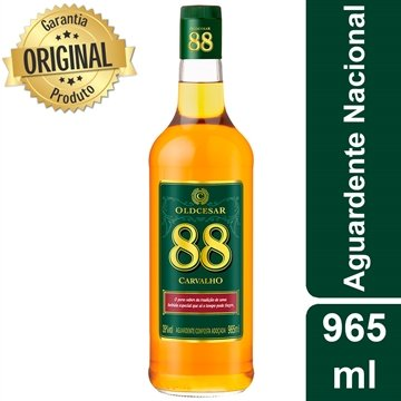 Aguardente Old Cesar 88 965ml