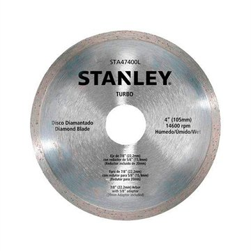 Disco Diamantado Liso Stanley 105MMX20MM STA47401B