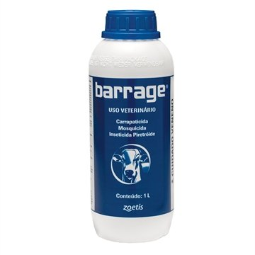 Barrage Carrapaticida Mosquicida Sarnicida 1000ml - Fort Dodge