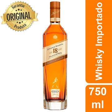 Whisky Escocês Platinum Label 18 Anos Garrafa 750ml - Johnnie Walker